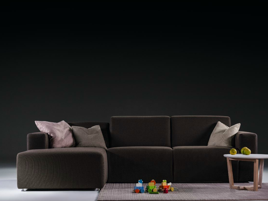Add space where you need it the most with l shaped sofas for Unique sofa designs