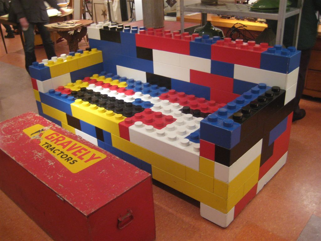 Lego Inspired Furniture And Designs With Nostalgic Flair