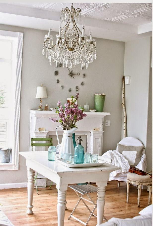 52 ways incorporate shabby chic style into every room in for Shabby chic cottage decor