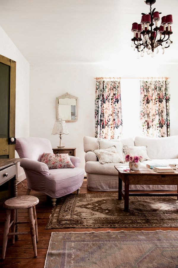 52 ways incorporate shabby chic style into every room in your home - Meuble style shabby chic ...