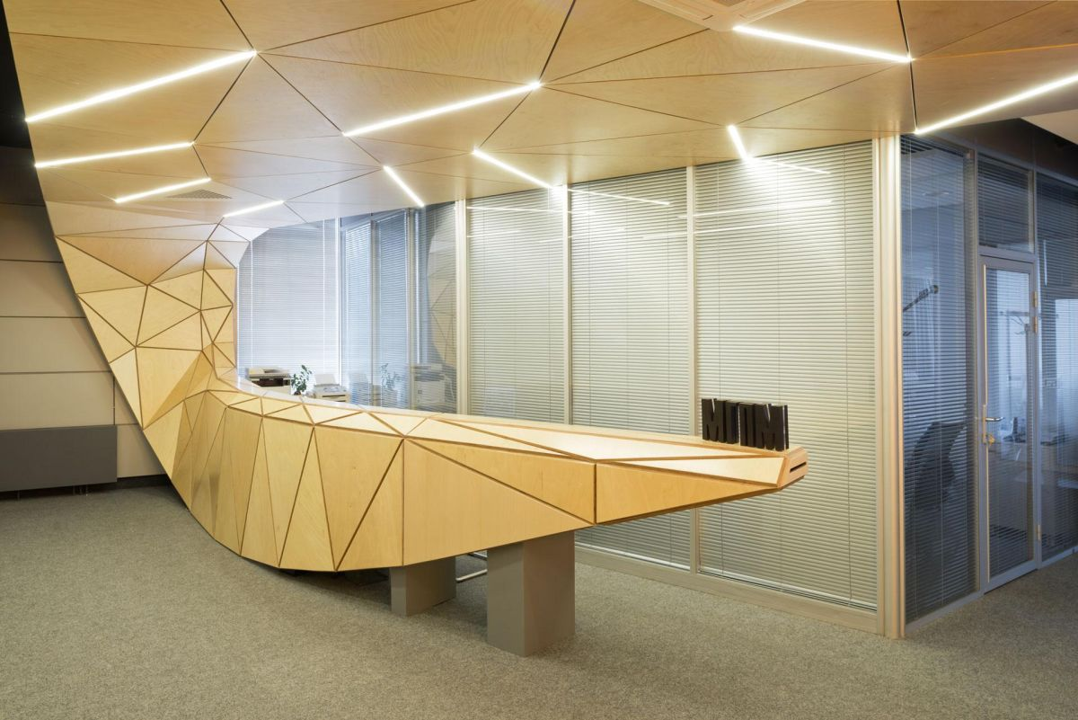 Information Desk Design 50 reception desks featuring interesting and intriguing designs