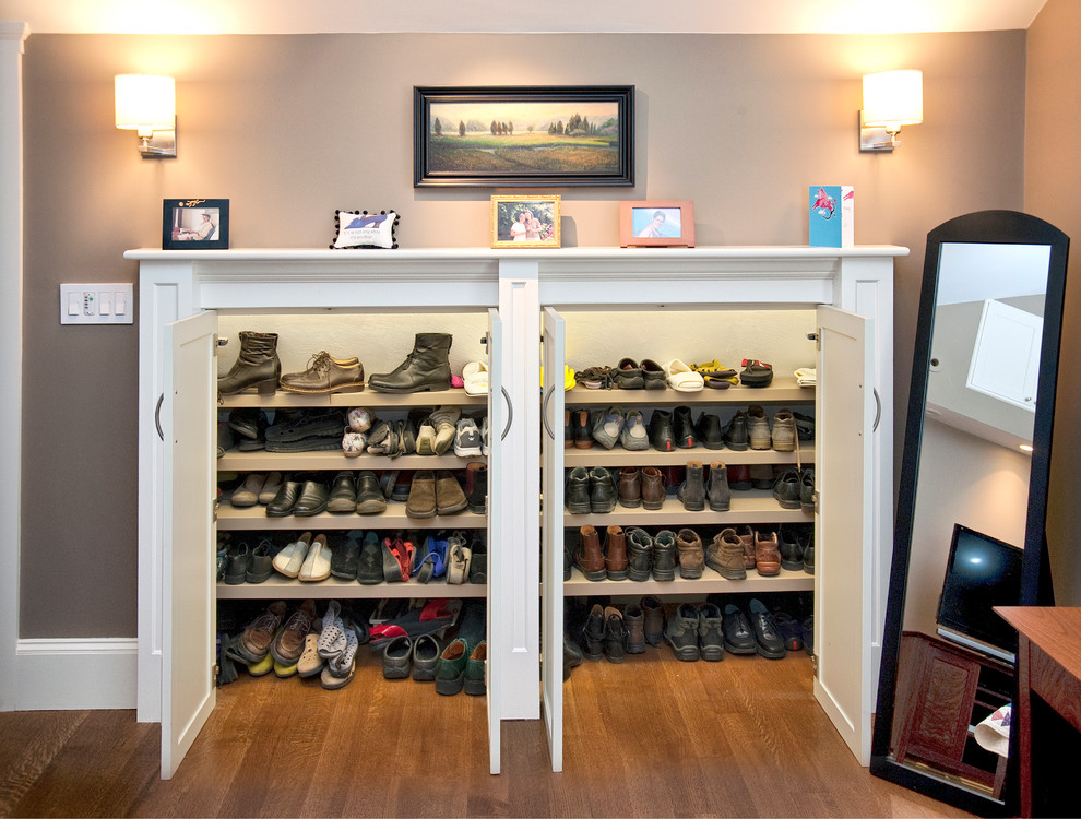 Miniature Closet. 20 Shoe Storage Cabinets That Are Both Functional   Stylish
