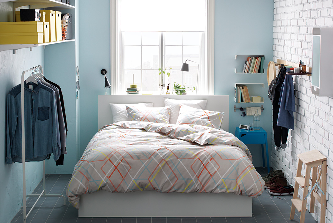45 ikea bedrooms that turn this into your favorite room of the house - Camera da letto completa ikea ...