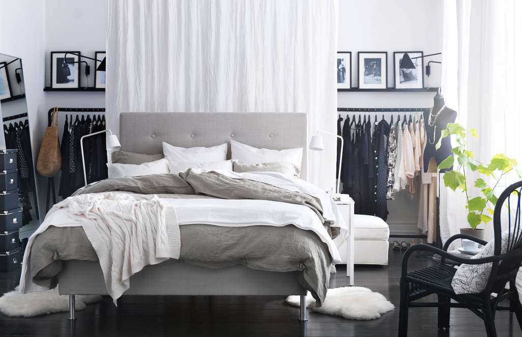 Charming 45 Ikea Bedrooms That Turn This Into Your Favorite Room Of The House Part 6