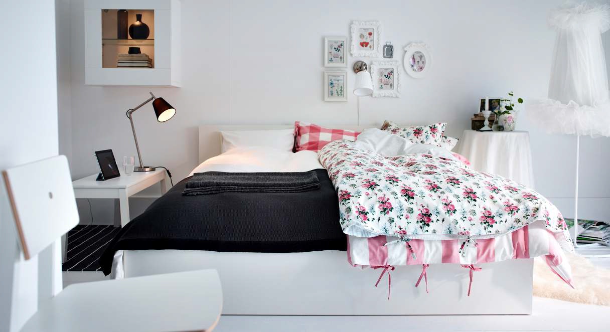Superbe 45 Ikea Bedrooms That Turn This Into Your Favorite Room Of The House