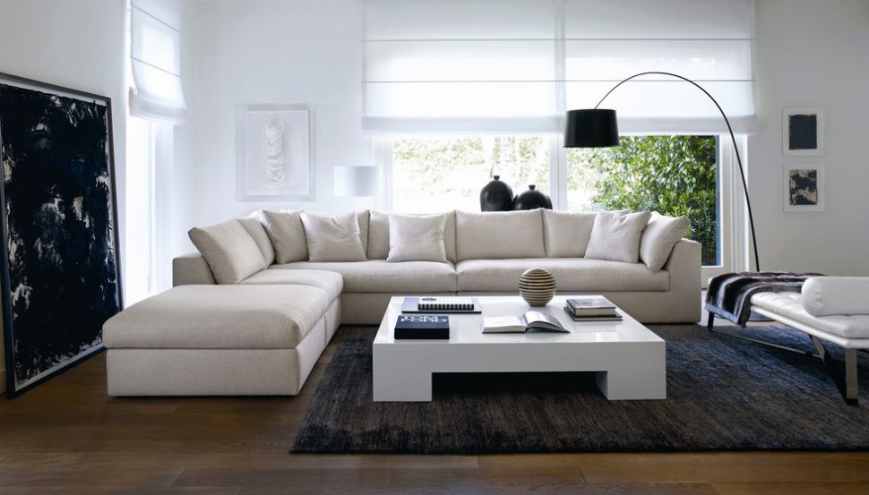 Add Space Where You Need It The Most With Lshaped Sofas - Coffee table for l shaped sofa