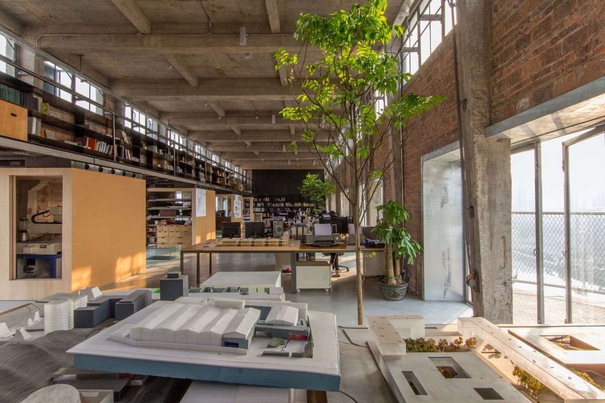Silo In A 1960 S Beer Factory Turned Into A Workshop