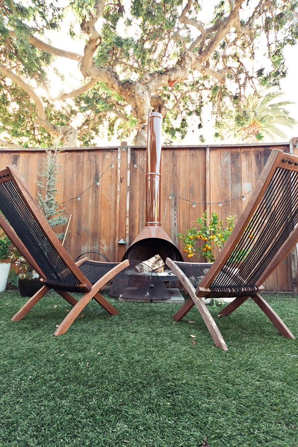 Choose to Have Your Malm Fireplace Blend in With Your Yard