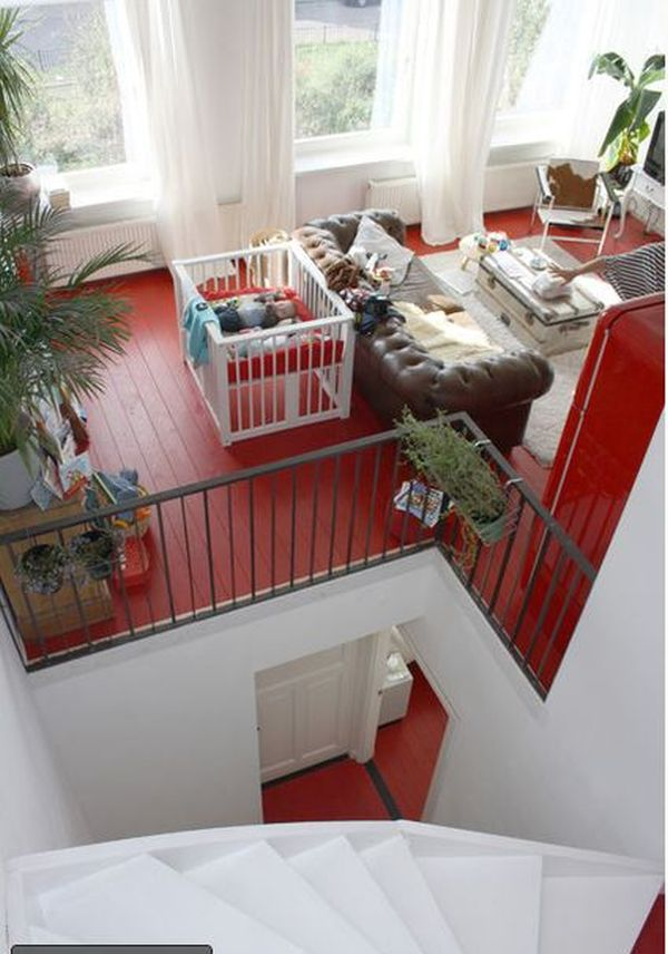 SOLID COLOR PAINTED FLOORS