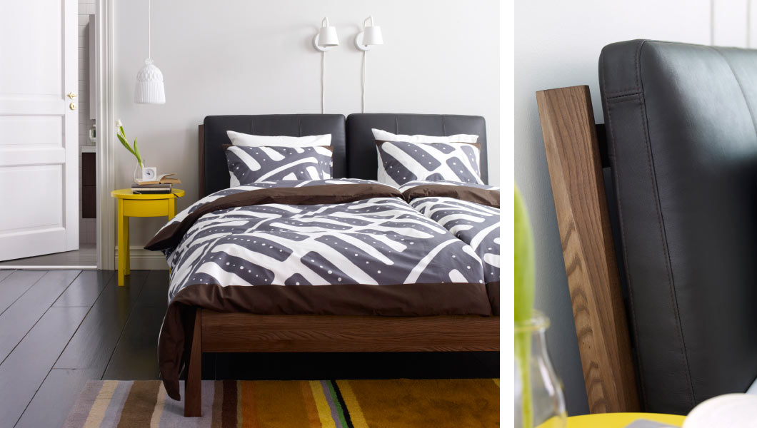 45 ikea bedrooms that turn this into your favorite room of for Camere ikea