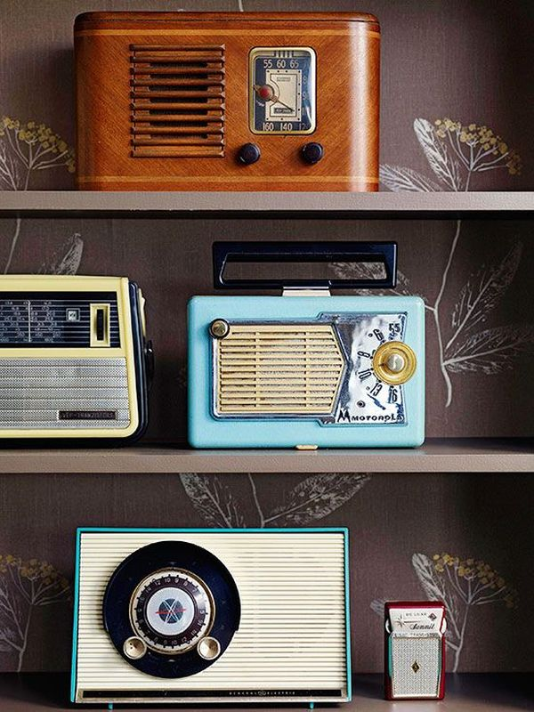 Retro Accents With Lots of Personality
