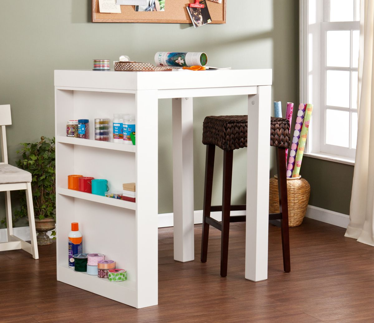 & Craft Tables With Storage Attempting To Organize Your Creativity