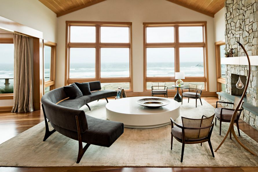 Include The Sofa Or Sectional In Circular Groupings.