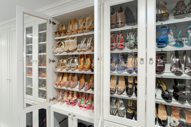 View In Gallery A Large Collection Of Shoes Needs A Practical Storage ... Part 86