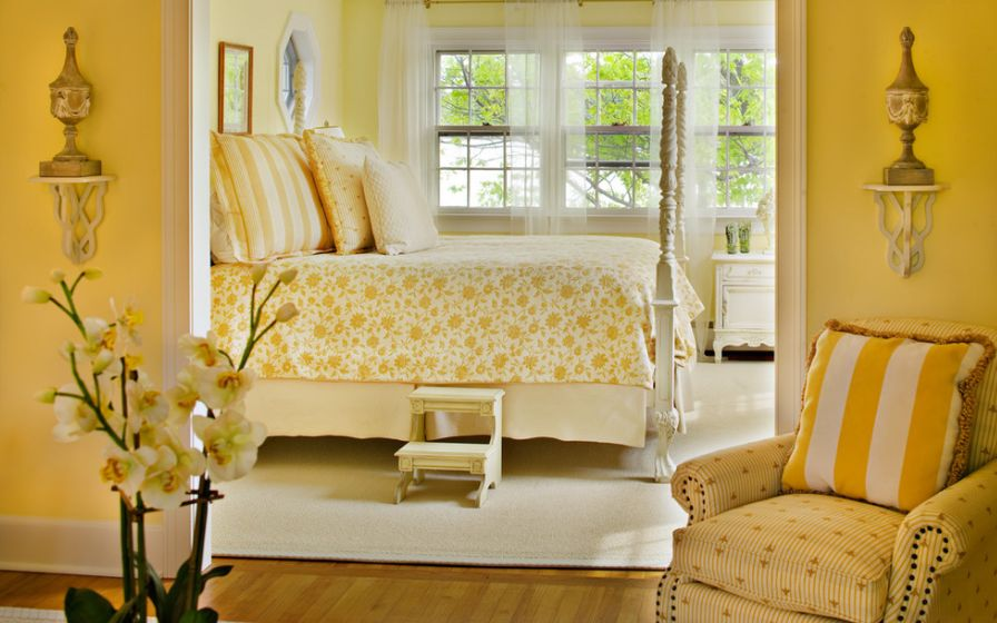 Wonderful How You Can Use Yellow To Give Your Bedroom A Cheery Vibe