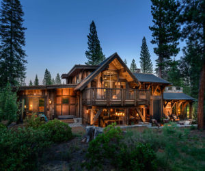 Mountain Cabin Overflowing With Rustic Character And Handcrafted Beauty