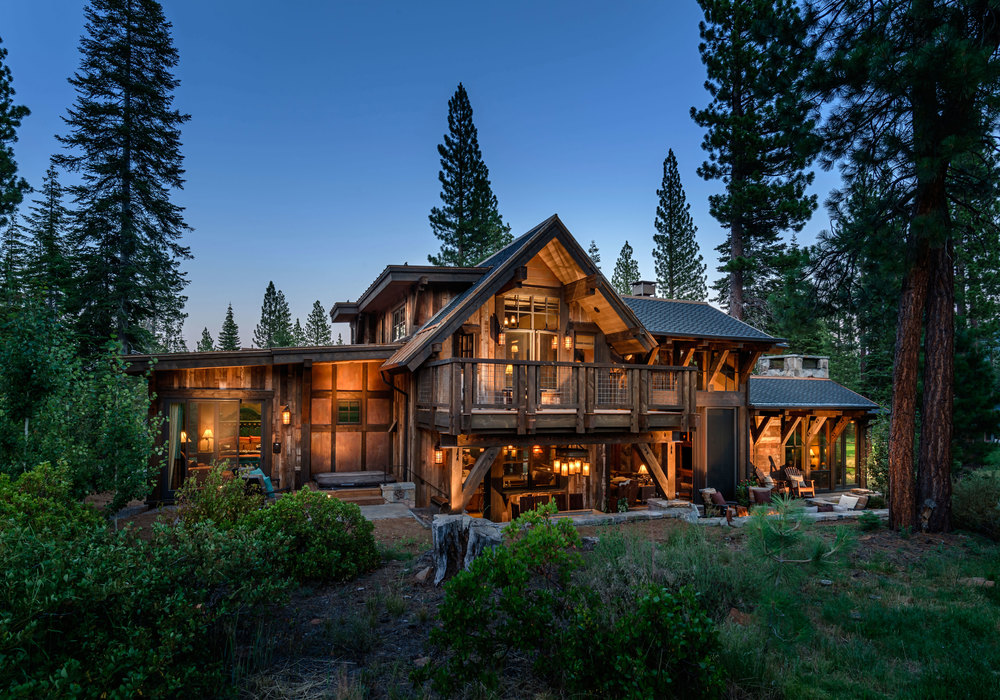Mountain cabin overflowing with rustic character and for Texas cabins in the woods