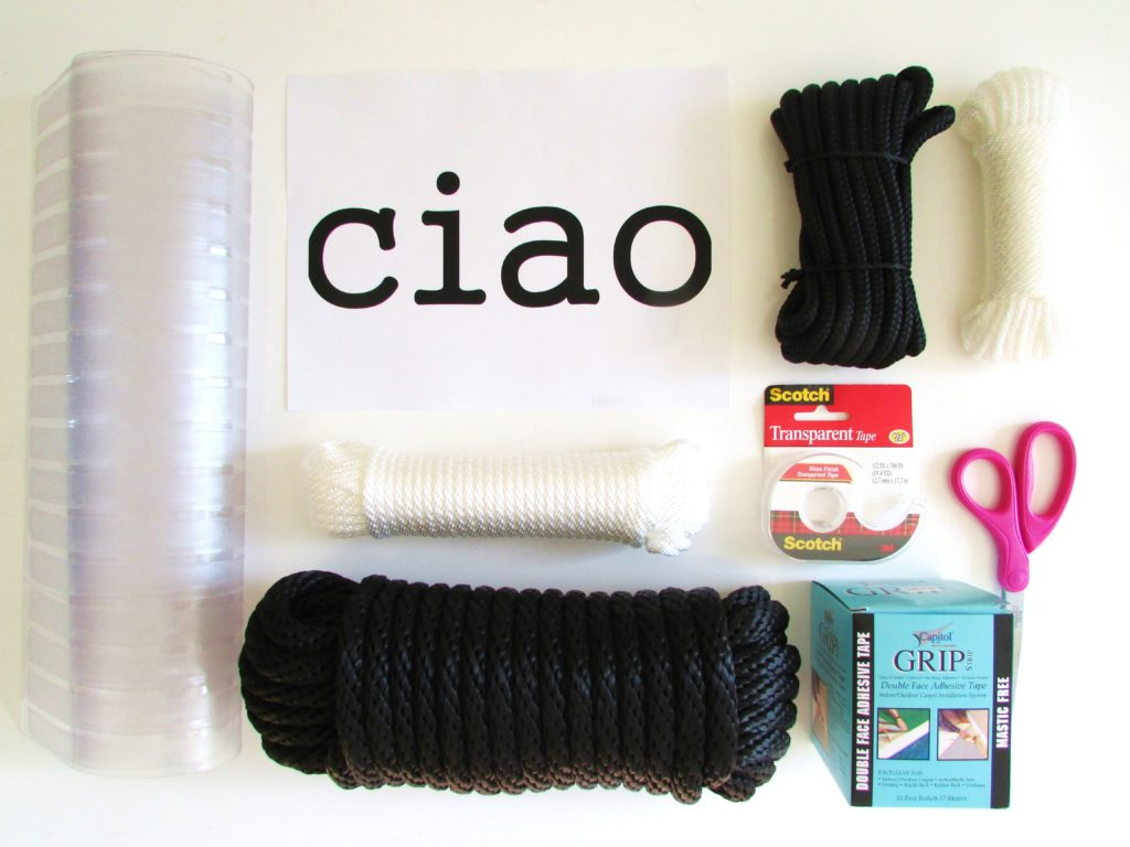 DIY-Ciao-door-mat-supplies
