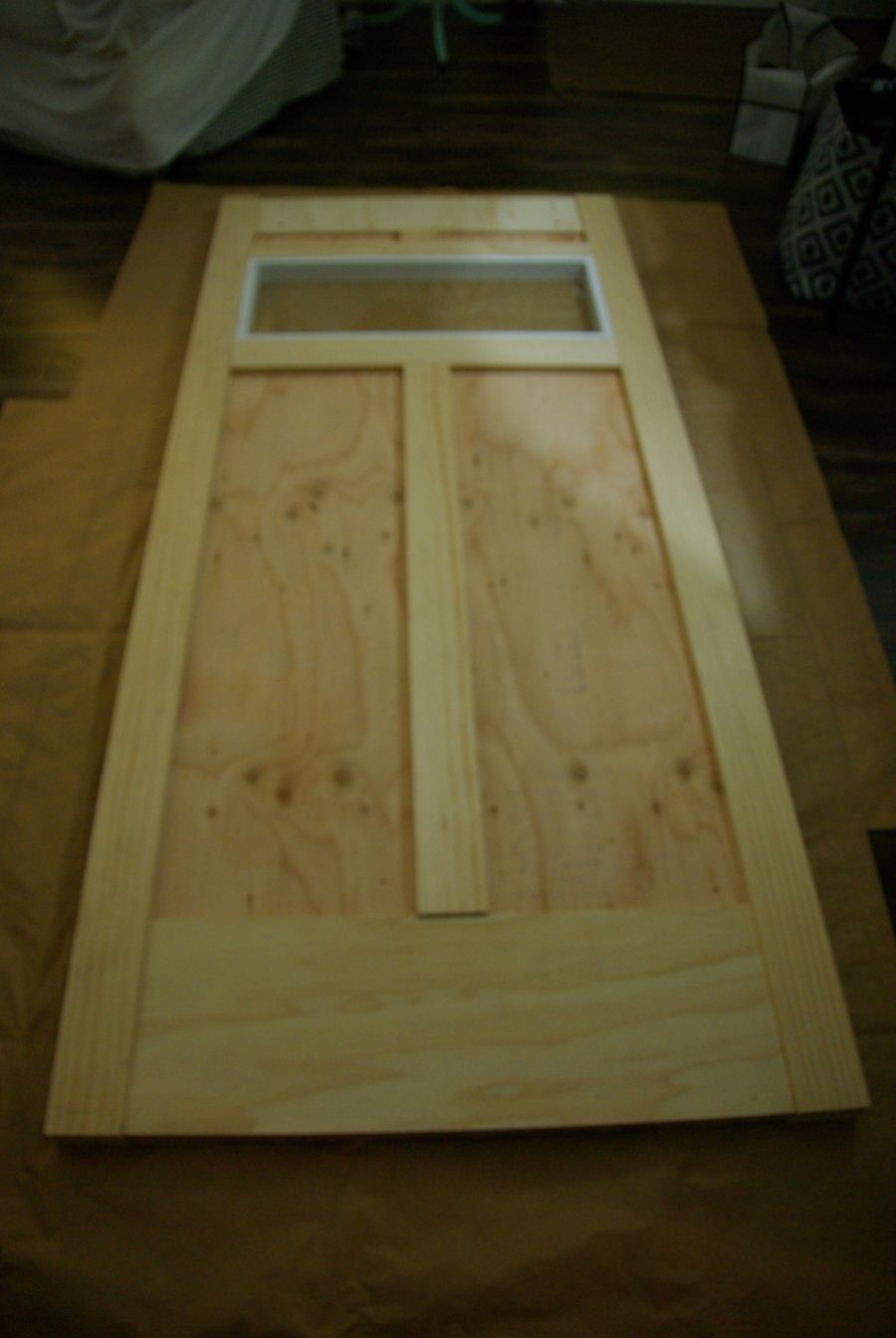 How To how to make a barn door images : DIY Barn Door - Space Saving And Creative