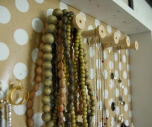DIY Wall Jewelry Holder
