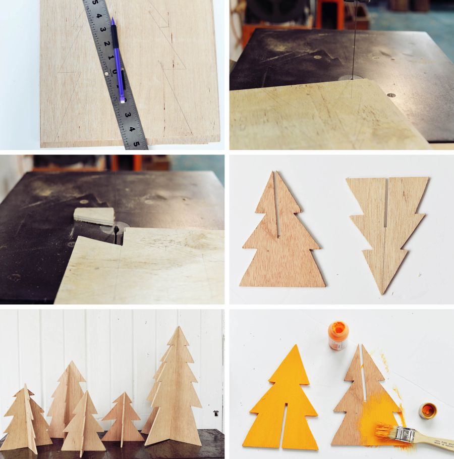 Make Mini Christmas Trees