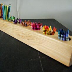 Rustic DIY Pencil Holder