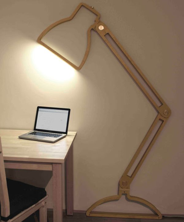 The Nepa Lamp: Lamp Flexo in Two Dimensions