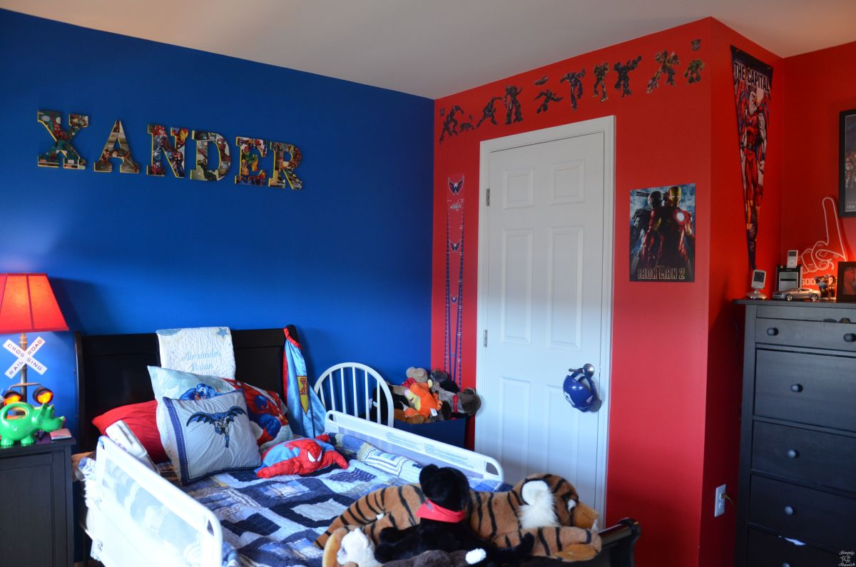 Superhero Room Decor Ideas