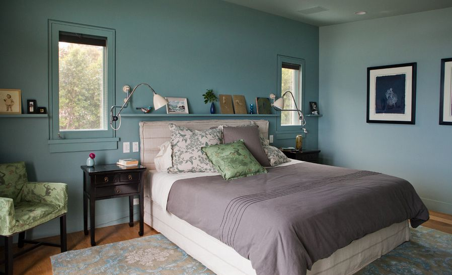 Wall Paint Schemes] 22 Beautiful Bedroom Color Schemes Decoholic ...