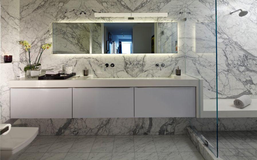 Using Marble Tiles For Kitchen Bath Floors