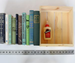 DIY Book Box Hiding Spot