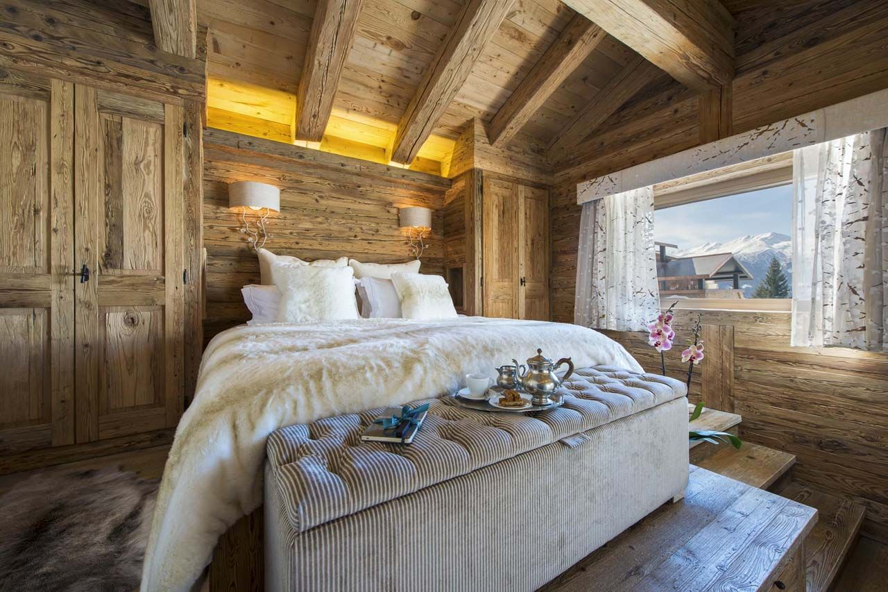 Luxury comfort and spectacular mountain views at the - Decoracion rustica moderna ...