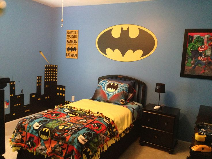 Batman Bedding And Bedroom Décor Ideas For Your Little ...