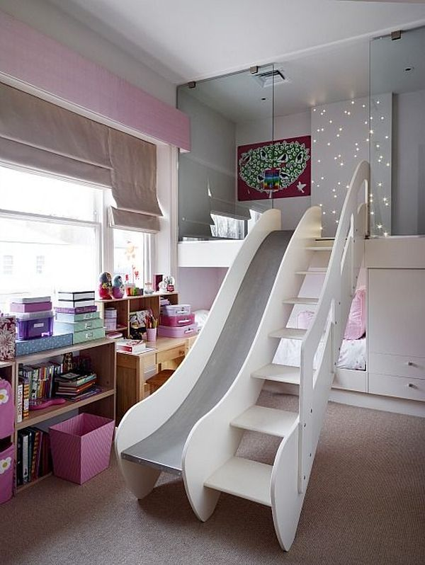 Turn The House Into A Playground Fun Slides Designed For Kids