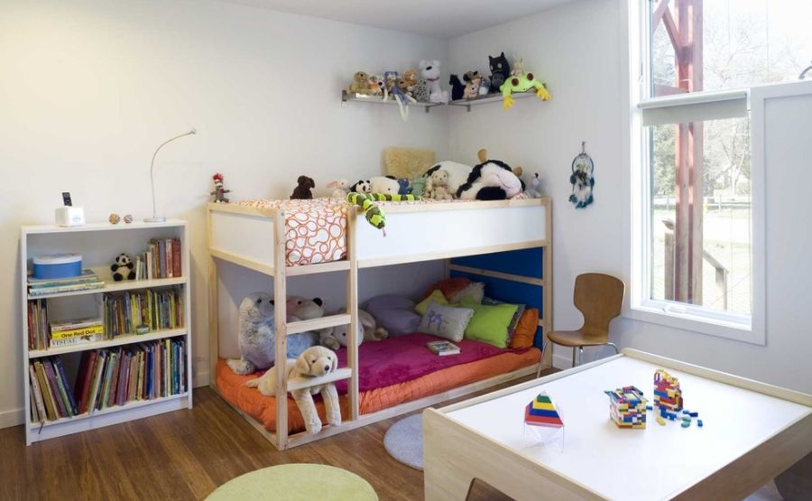 Home Decorating Trends   Homedit. Toddler Bunk Beds That Turn The Bedroom Into a Playground