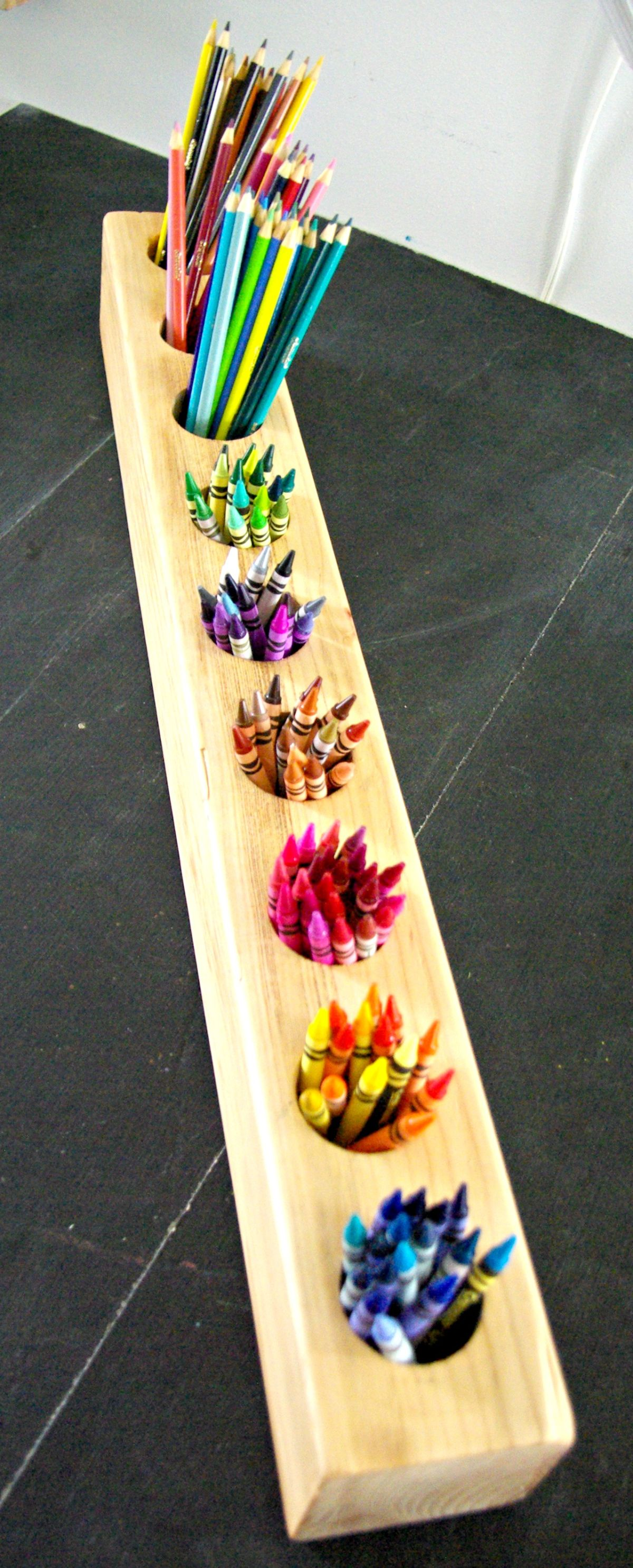 Ideas On How To Paint Pencil Holders