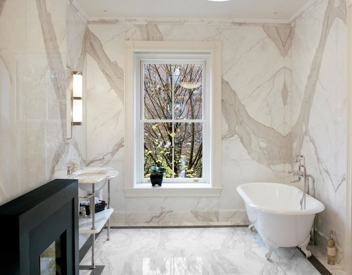 Bath Marble sophisticated bathroom designs that use marble to stay trendy