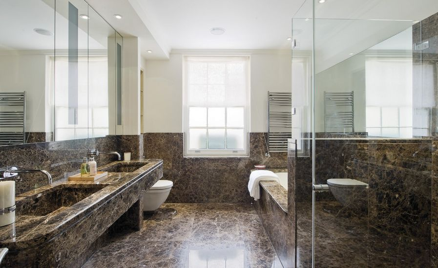 Merveilleux Sophisticated Bathroom Designs That Use Marble To Stay Trendy