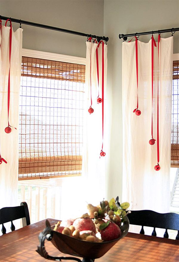 Decorate with ribbons