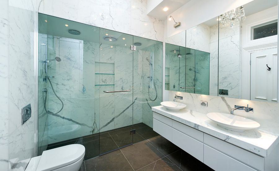 Sophisticated Bathroom Designs Marble Stay Trendy Home Design
