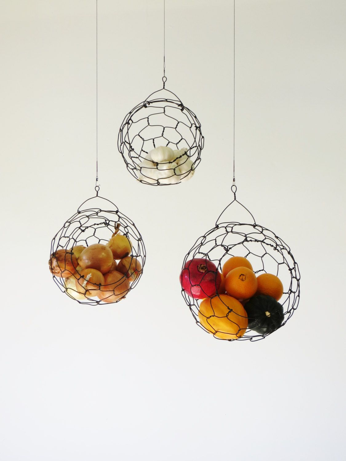 & Our New Obsession u2013 Hanging Fruit Baskets