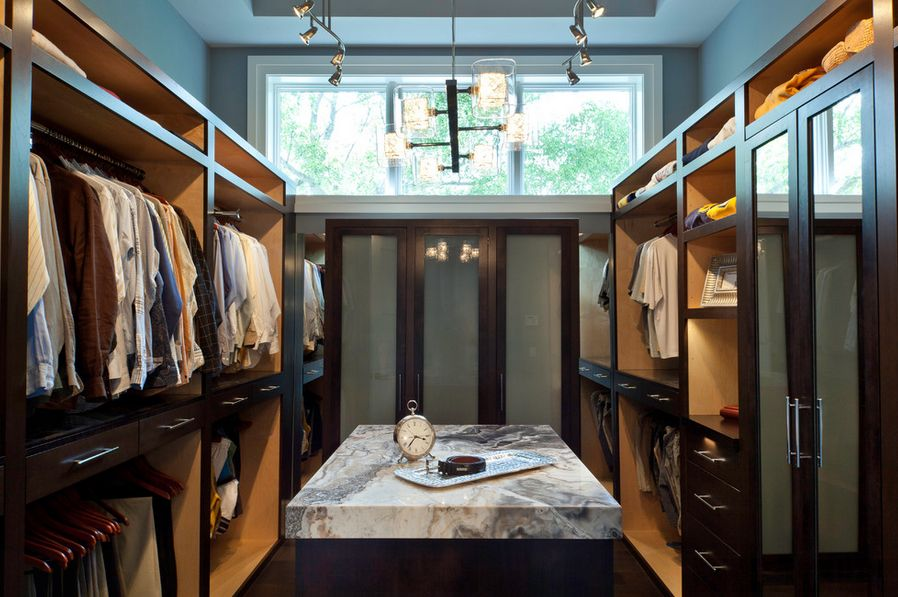 High ceiling options. & Practical Closet Lighting Ideas That Brighten Your Day