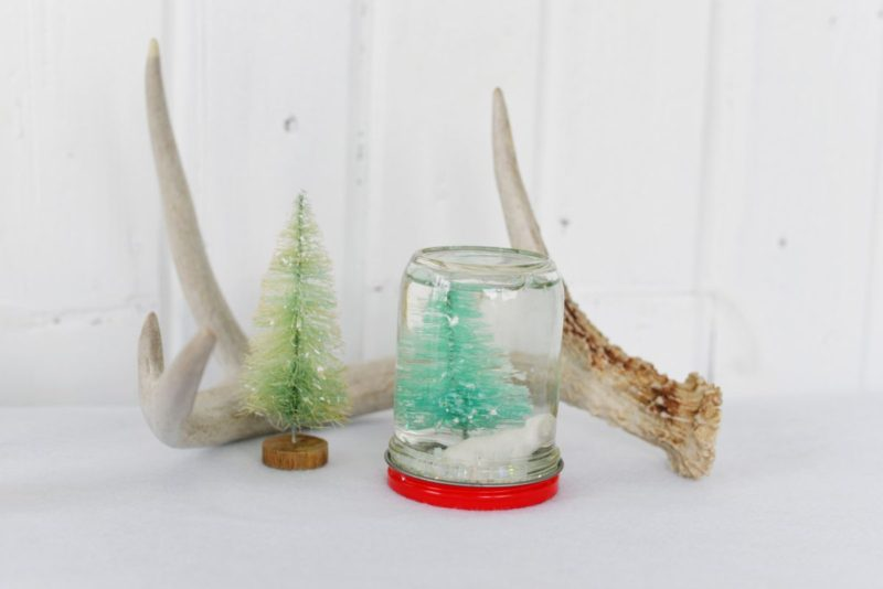DIY Homemade Custom Snow Globes for Christmas