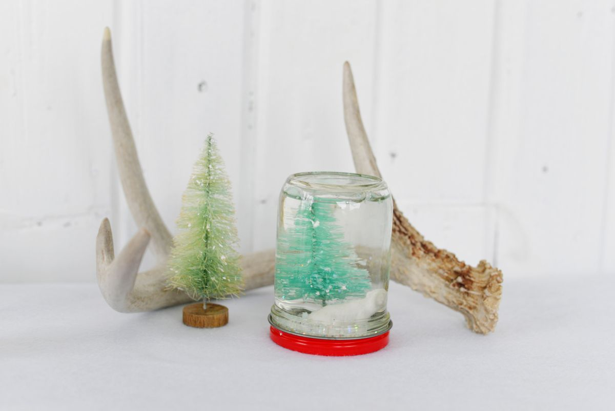 Homemade Custom Snow Globes