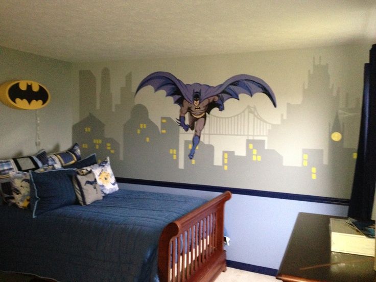 Batman Bedding And Bedroom Dcor Ideas For Your Little