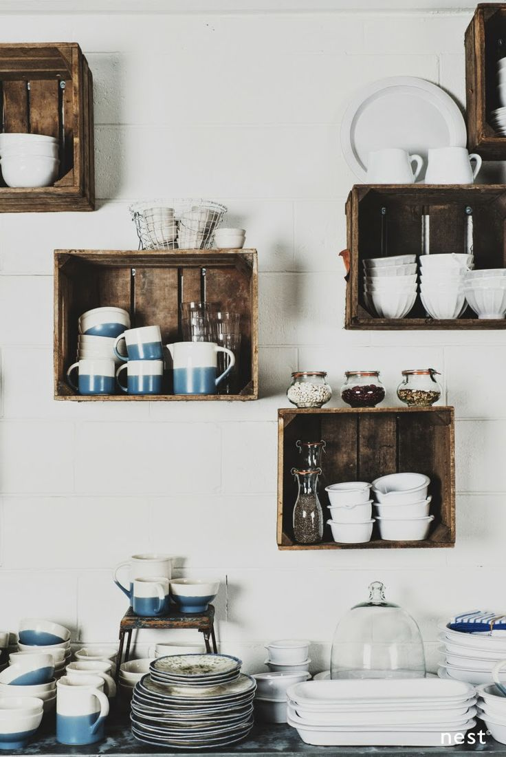 Kitchen Wall Storage.