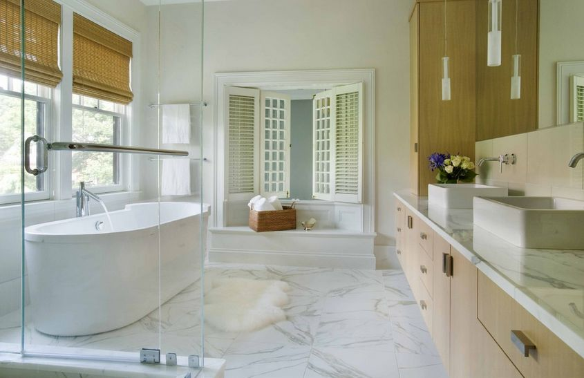 Superbe Sophisticated Bathroom Designs That Use Marble To Stay Trendy