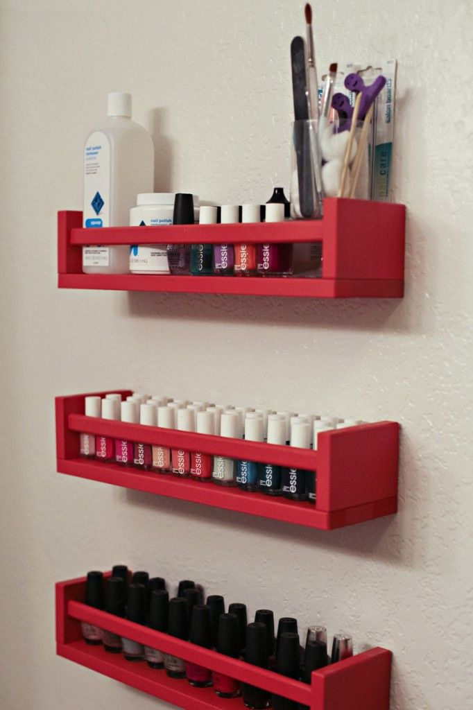 18 ways to hack ikea spice racks for Organiser un stand