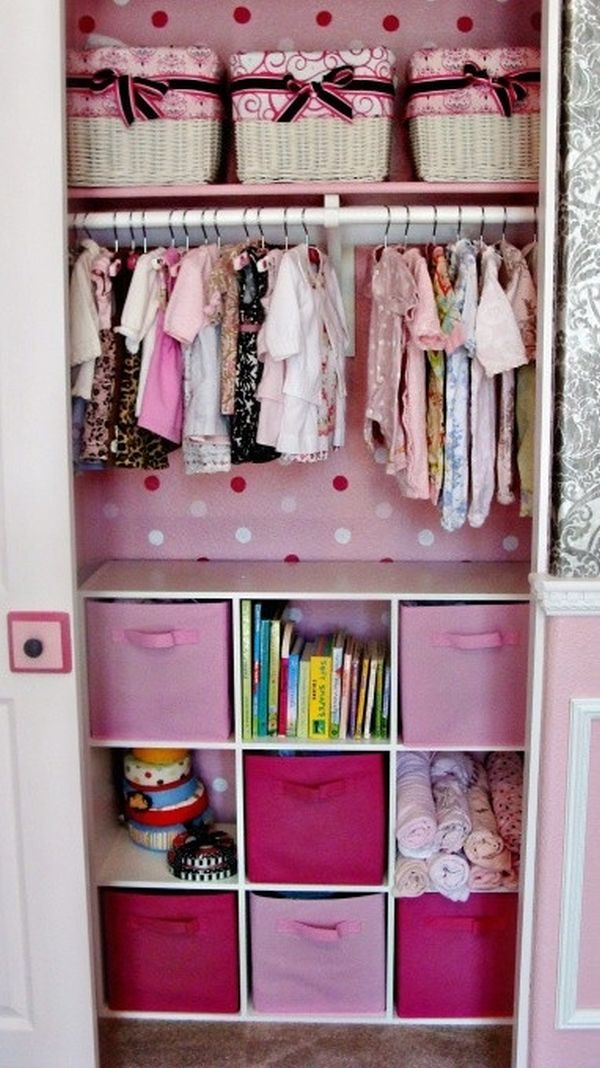 Organizing the baby 39 s closet easy ideas tips How to organize your clothes without a closet