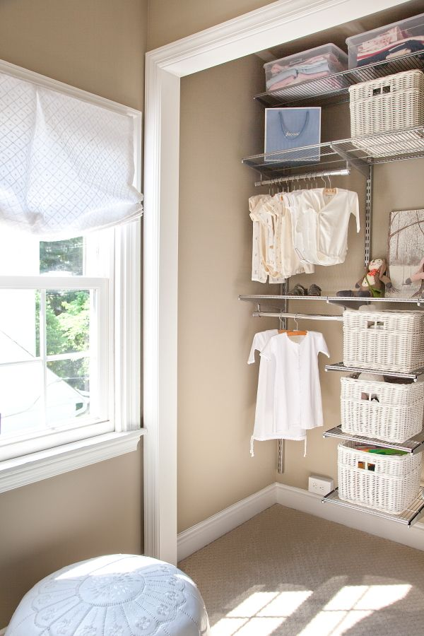 Small Nursery Closet Organization Ideas Part - 17: ... Organizing Nursery Closets To Inspire Your Endeavor! View In Gallery